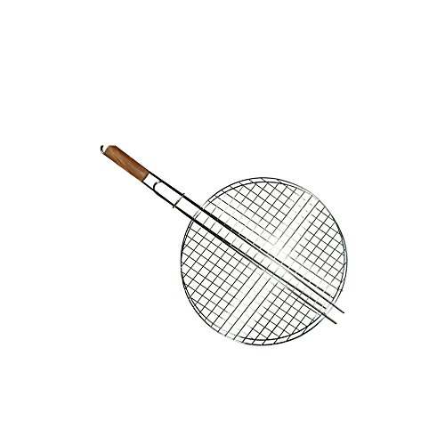 cook-grill-49140-bbq-grill-with-wooden-handle-round-steel-grey-30-x-25-x-10-cm