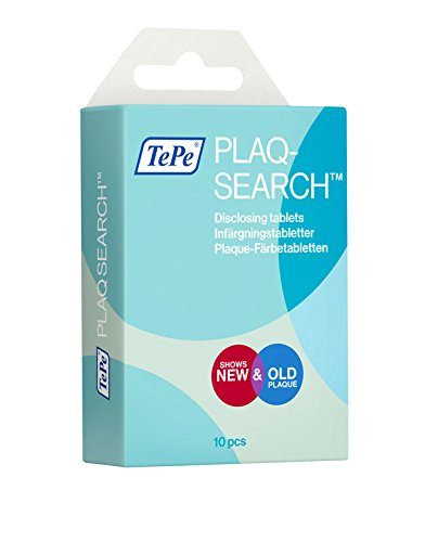 TePe Plaq-Search 10 Tabletten, 2er Pack (2 x 10 Stück)