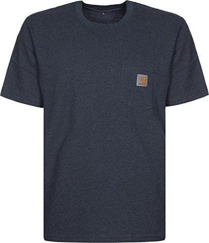 Carhartt Herren S/S Pocket T-Shirt Blau