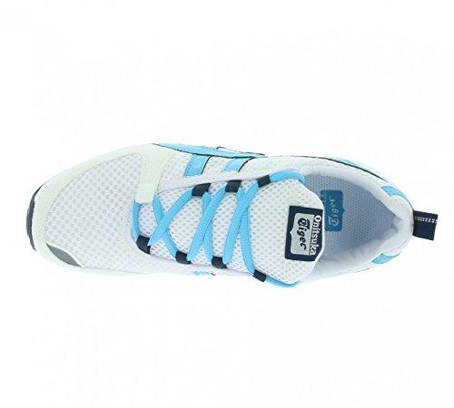 Onitsuka Tiger Sneaker Ult-Racer Bianco/Azzurro