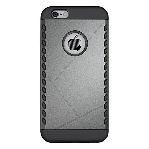 CruzerLite Spartan Dual Protection Hülle für Apple iPhone 6S gold Metal