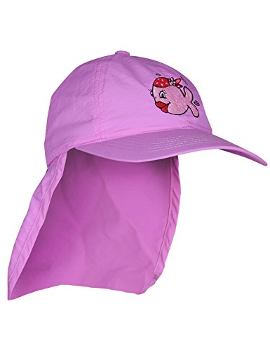 iQ-Company Kinder Cap IQ UV 200 Kids und Neck Jolly Fish, Violett (violet), Gr. 50-55cm