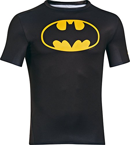 Under Armour Alter Ego Comp SS Maglia, Manica Corta, Nero (Nero), M