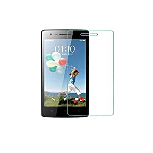 Real Shopping 0.3mm Premium Anti Explosion Tempered Glass, 9H Hardness Ultra Clear, Anti-Scratch, Bubble Free, Anti-Fingerprints & Oil Stains Coating for Oppo Mirror 3 R3007