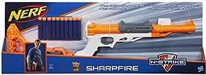 Hasbro Nerf A9315EU4 - N-Strike Elite SharpFire, Spielzeugblaster