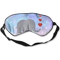Cute Elephant Love Heart 99% Eyeshade Blinders Sleeping Eye Patch Eye Mask Blindfold For Travel Insomnia Meditation preisvergleich bei billige-tabletten.eu