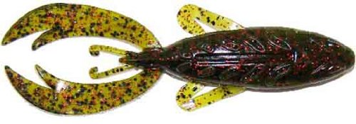 Big Bite Baits 4-Zoll Rojas Fighting Frog Lures 7er Pack, 4RFF-02 Rojas Fighting Frog Watermelon Red Flake 4