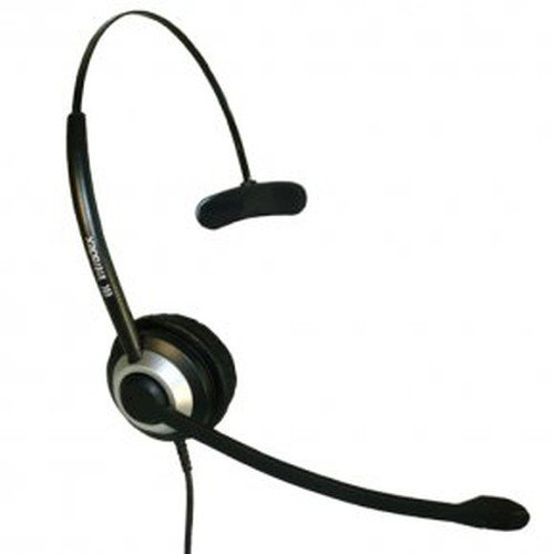 Imtradex BasicLine TM Headset monaural/einohrig für Cisco - IP Phone IP 6901 Telefon, kabelgebunden mit NC, ASP und QD-Stecker Cisco 6901 Ip Phone