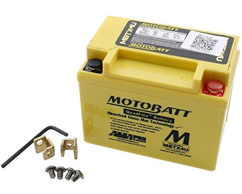 Batteria MOTOBATT MBTX4U 12V 4,7Ah 114x 70x 87mm