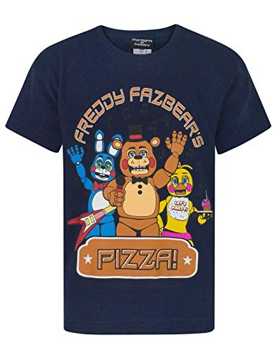 Five Nights At Freddy's Pizza Boy's T-Shirt (5-6 Years)