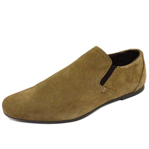 boys-suede-leather-stone-slip-on-formal-wedding-smart-school-loafer-shoes-sizes-1-6