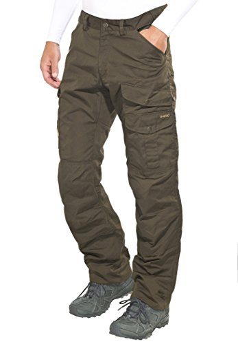 Fjällräven Herren Barents Pro Trousers, grün (Dk.Olive-Dk.Olive),46 EU