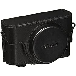 Sony LCJRXF/B Housse de Transport pour Appareil Photo RX100, RX100 II, RX100 III - Noir