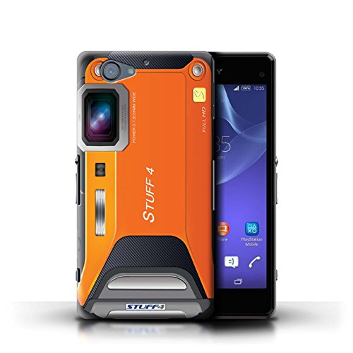 Kobalt® Imprimé Etui / Coque pour Sony Xperia A2 / Millésime conception / Série Appareil Photo Sportif