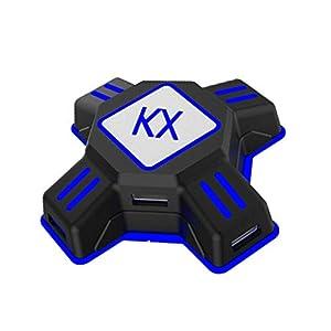 Vaycally Adapter Maus Tastatur Typ-c USB Port Konverter Maus Tastatur Konverter USB Port Konverter Spiel Zubehör…