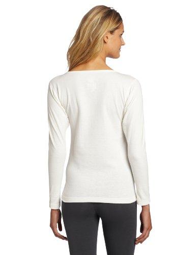 Duofold -  Maglia termiche  - Maniche lunghe  - Donna Bianco Winter White