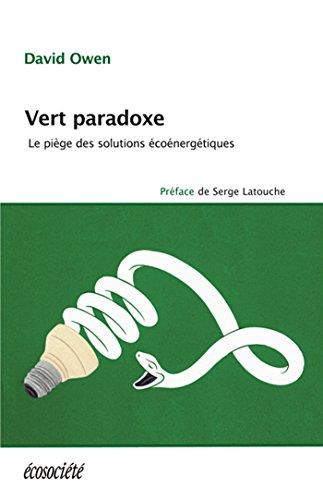 Vert paradoxe: Le pige des solutions conergtiques