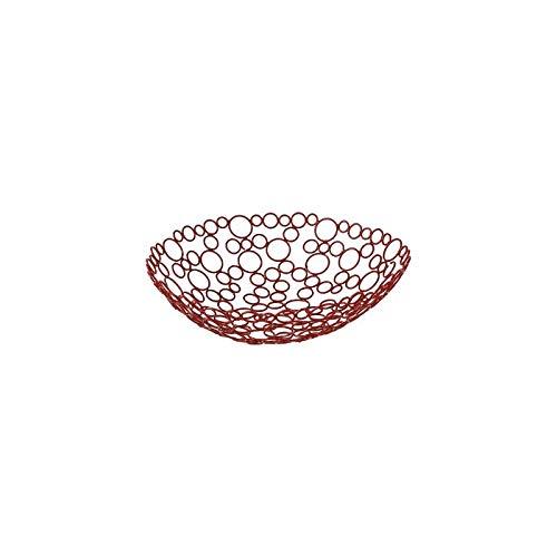 Corbeille à fruits - D 31 cm - Rouge