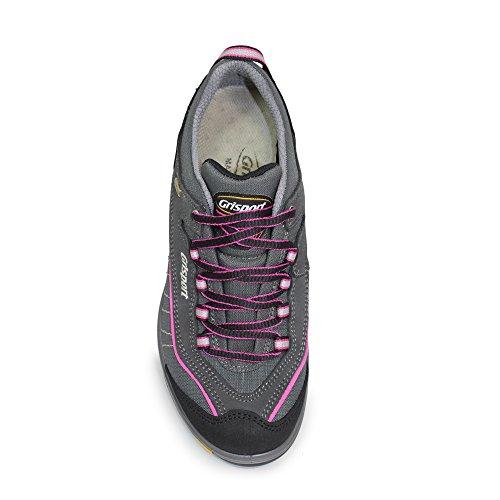 Grisport Damen Lady Nova Trekking- & Wanderhalbschuhe Pink (grigio / Rosa)