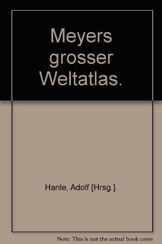 Buchcover: Meyers grosser Weltatlas.