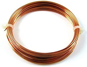 10 Meters Copper Wire - 20 Gauge (0.914 mm Diameter) - Dead Soft - 99.9% Pure Copper Wire - Without Enameled - DIY Jewellery & Artistic