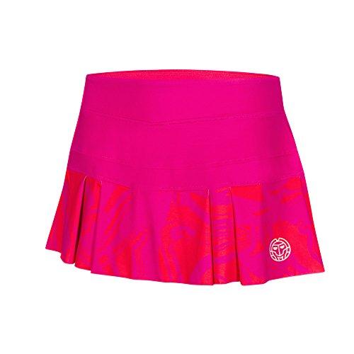 BIDI BADU Damen Tennis Rock - Liza Tech Skort - red/pink (FA18), Größe:L -
