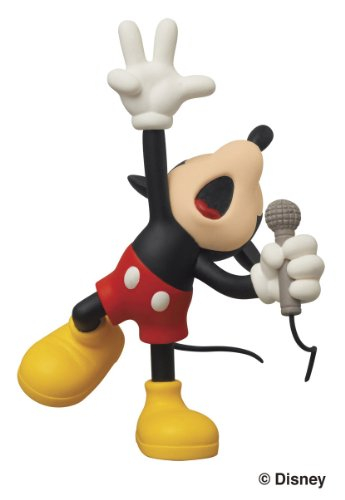 medicom-disney-x-roen-collection-shout-mickey-ultra-detail-figure-japan-import
