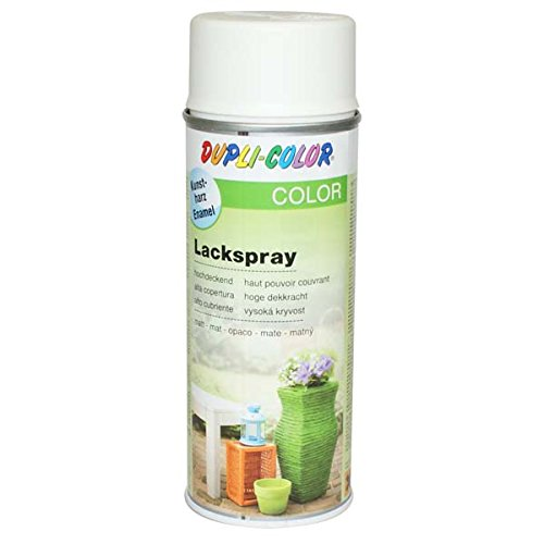 Dupli-Color 467004 Lackspray reinweiß matt 400  ml