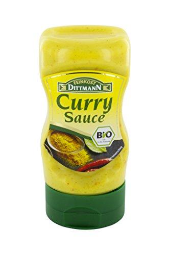 Feinkost Dittmann Bio Curry-Sauce, 5er Pack (5 x 210 ml)