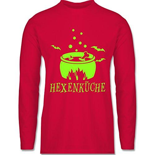 Shirtracer Küche - Hexenküche - Herren Langarmshirt Rot