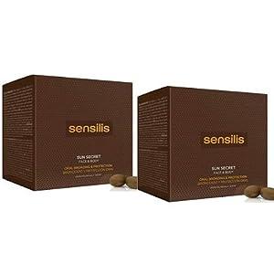 Sensilis Sun Secret – Complemento Alimenticio de Protección Solar vía Oral – Pack de 2 cajas de 30 Cápsulas