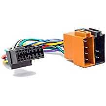 carav15–109coche ISO arnés Cabeza Cable para Sony (modelos seleccionados) de 16pines (30x 12mm) ISO Radio Estéreo (hembra) Cable adaptador enchufe conector de cableado cable