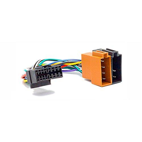 carav 15-109ISO Autoradio Adapterkabel für Sony CD-; cdx-; md-; mdx-; mex-; wx-; XR-; xt-; xav-Series//JVC kd-; ks-; kw-Series (Select Modelle) Mikroprozessor (30x 12mm)-> ISO (F) -