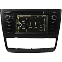 LIKECAR Wince6.0 capo unità Car Stereo GPS navigatore satellitare DVD Player 6.2 pollici in precipitare HD Touchscreen per BMW E81 1 Series (2004-2012) Door Hatchback, E82 1 Series (2004-2012) Coupe, E87 1 Series (2008-2012) 5Door Hatchback, E88 1 Series (2004-2012) Convertibl automatico aria condizionata + sedile riscaldato supporto GPS / 3G / Bluetooth / controllo del volante Funzione Multimedia Station Navigation System con SD Card gratuita
