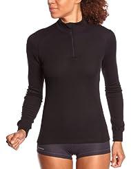 Odlo Warm T-Shirt manches longues 1/2 zip Femme