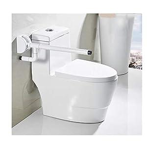MLMYSFS Handläufe Für Badezimmer, Weiße Handläufe Für WCs, Ältere Behinderte Toiletten, Toilettenstangen, Griffe, Toiletten, Toiletten, Aufzüge, Toiletten Für Badezimmer, Sicherheitsgeländer