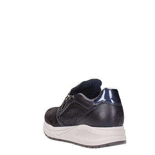 Igi&Co Dsa 8761, Sneaker a Collo Basso Donna Notte