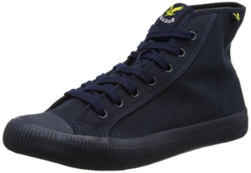 Lyle & Scott Luggie Canvas, Sneaker Uomo Blue (New Navy)