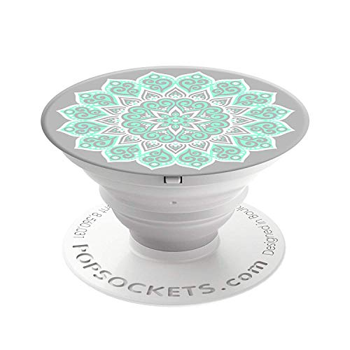 PopSockets 101175 - Soporte telescópico para Smartphones y tabletas, Estilo Peace Mandala Tiffany