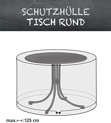 Schutzhülle für Tische rund 125 cm von beo