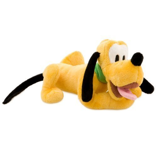 Disney Lot de 6 Mini-Bean Bag en Peluche Pluto - Mini-bean-bag