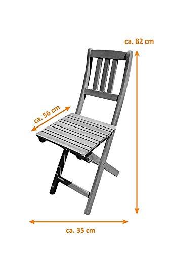 SAM® 3tlg. Balkon- Sitzgruppe - 6