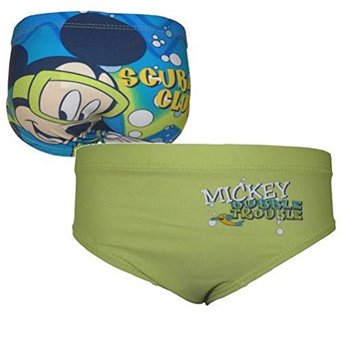 Slip de baño Mickey Verde 8 Años