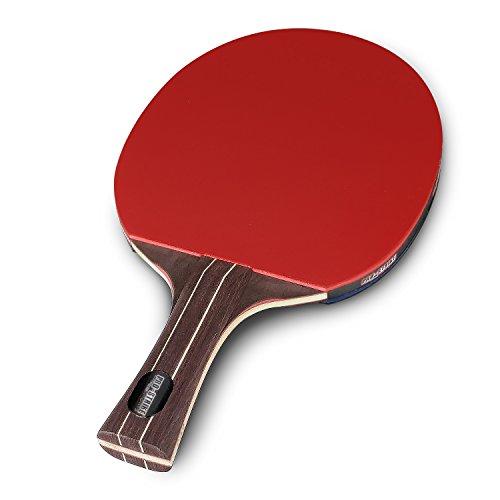 Pro-Strike Sports Tischtennisschläger – Professioneller Ping Pong Schläger | Ultraschneller Tischtennisschläger | Ergonomischer Holzgriff | 5-lagige Beschichtung