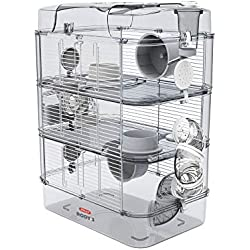 Zolux Cage pour Hamster, Souris, Gerbille ''RODY 3'' Trio