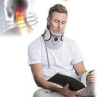 QJXF Medizinisches Hals-Servial-Traktionsgerät, Schutzeinblasbarer Halsstretcher Kragen Mit Pump-Komfort-Wear,... preisvergleich bei billige-tabletten.eu