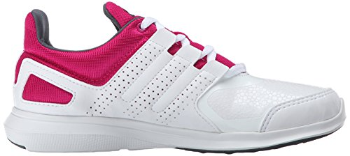 Adidas Performance Hyperfast 2.0 K Laufschuh (kleines Kind / big Kid) White/Grey/Pink