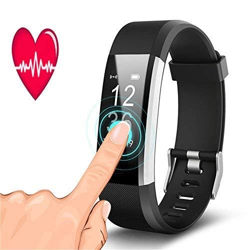 Schrittzähler Armband S2 Intelligente Meter Armband Smart Sport Armband Herzfrequenz TrackingSchrittzähler Kalorienzähler Sleep Monitor Fit Damen, Frauen, Herren und Kinder (Spanische Sprache Aktivitäten)