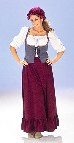 Magd Marketenderin für Mittelalter Kostüm und Magd Kostüm