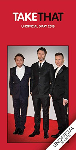 Take That 2018 Slim D (Diary Slim) (Paperback)